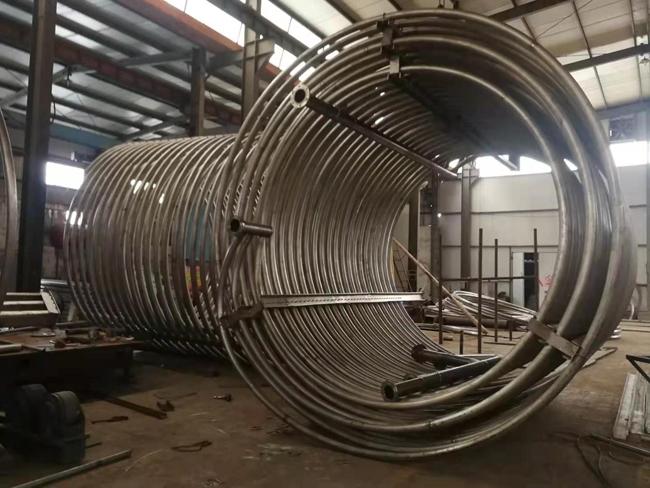 大型钛盘管